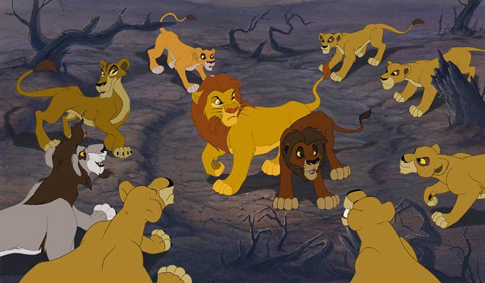 Anmeldelse 'løvernes konge 2 – simbas stolthed' på dvd