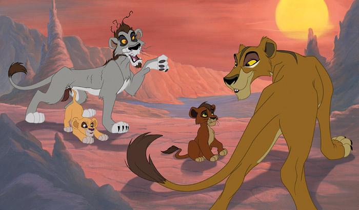 Ultramoderne Anmeldelse: 'Løvernes Konge 2 – Simbas Stolthed' på dvd | Kultur WA-27